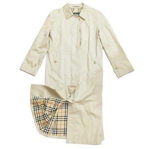 Burberry classic tan nova check trench coat
